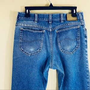 LEE Vintage 80s 90s Distressed Faded Mom Jeans